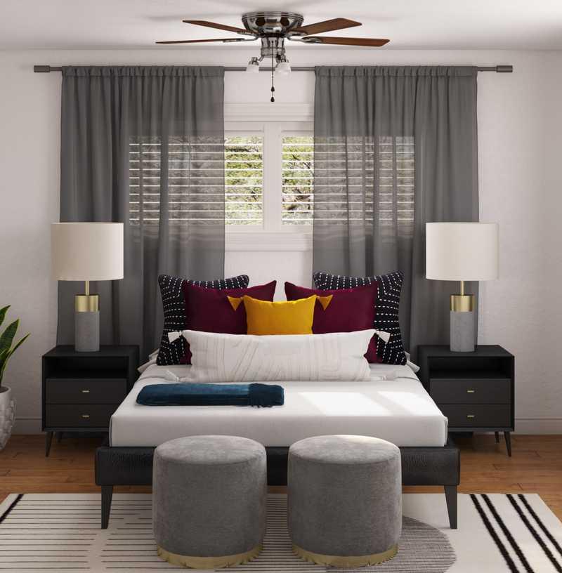 Contemporary, Modern Bedroom Design by Havenly Interior Designer Brian