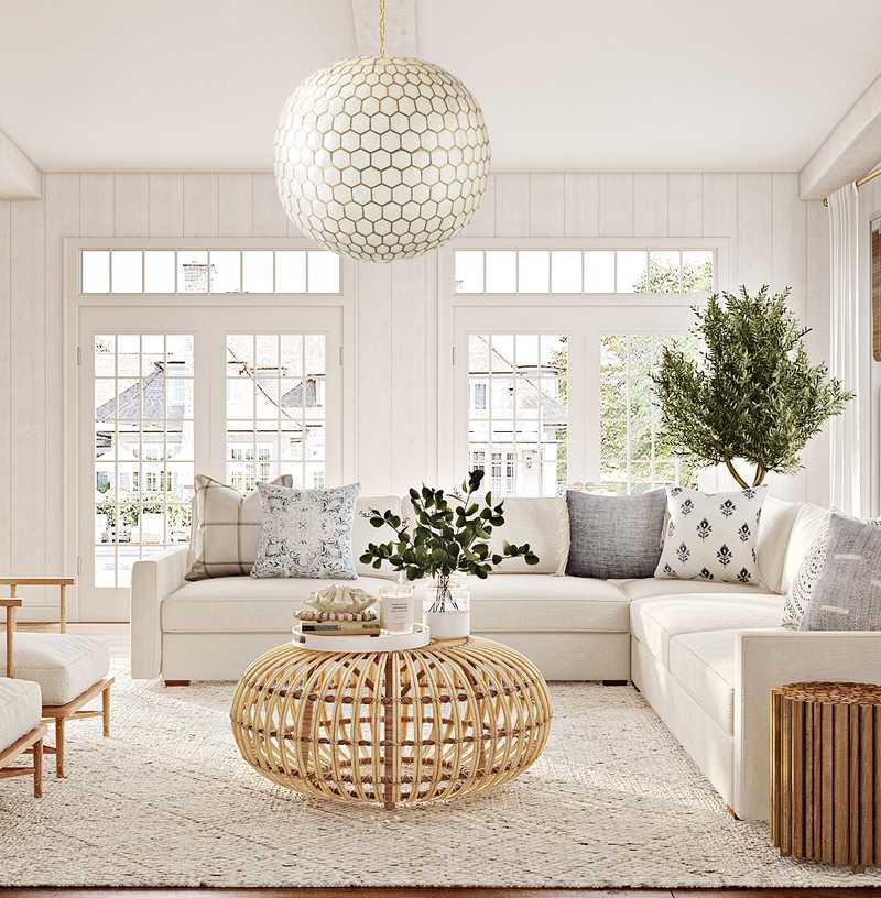 Classic, Coastal, Traditional  Design by Havenly Interior Designer