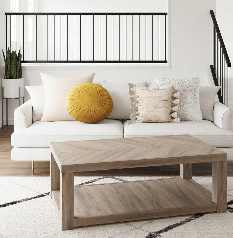Modern, Minimal Dining Room Design by Havenly Interior Designer Stephanie