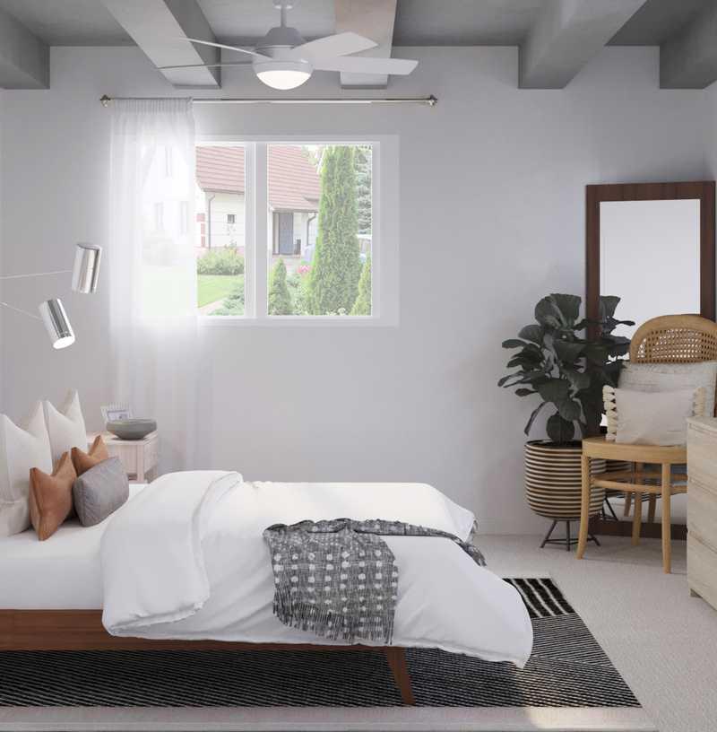 Modern, Bohemian, Midcentury Modern, Minimal Bedroom Design by Havenly Interior Designer Vivian