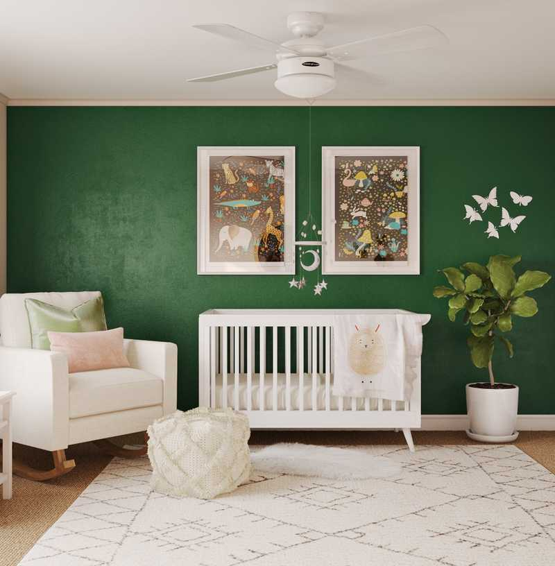Contemporary, Modern, Eclectic, Global Nursery Design by Havenly Interior Designer Arissa