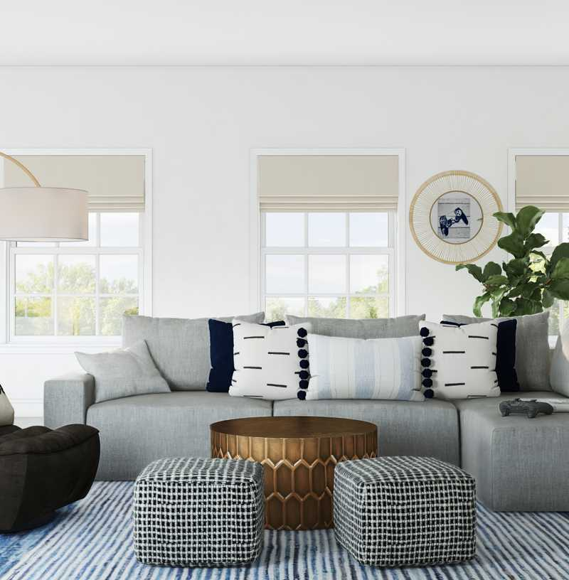 Modern, Coastal, Rustic, Midcentury Modern Other Design by Havenly Interior Designer Taylor