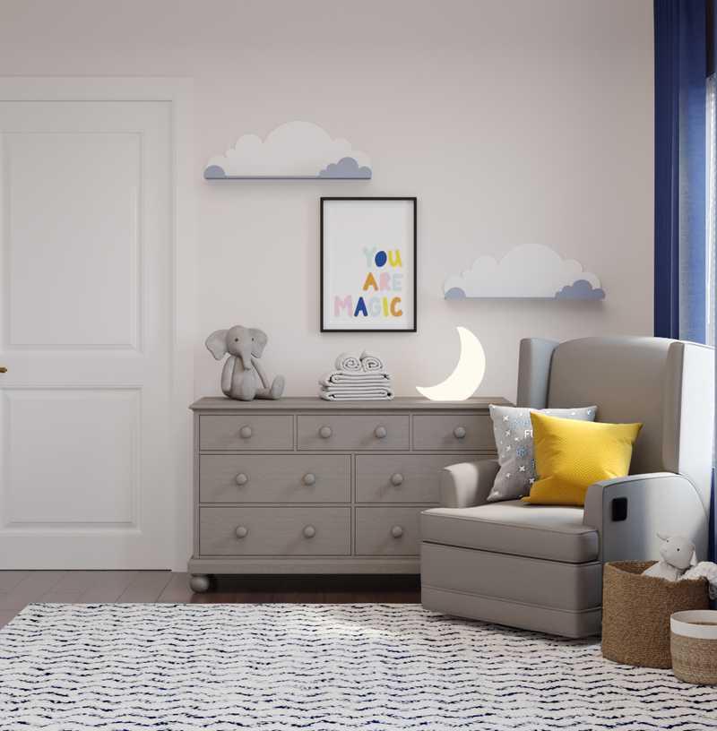 Contemporary, Modern Bedroom Design by Havenly Interior Designer Anna