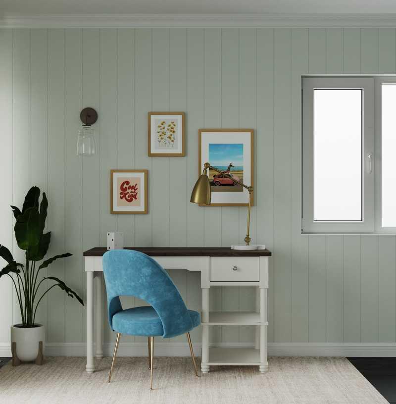 Coastal, Farmhouse, Transitional Other Design by Havenly Interior Designer Jamie