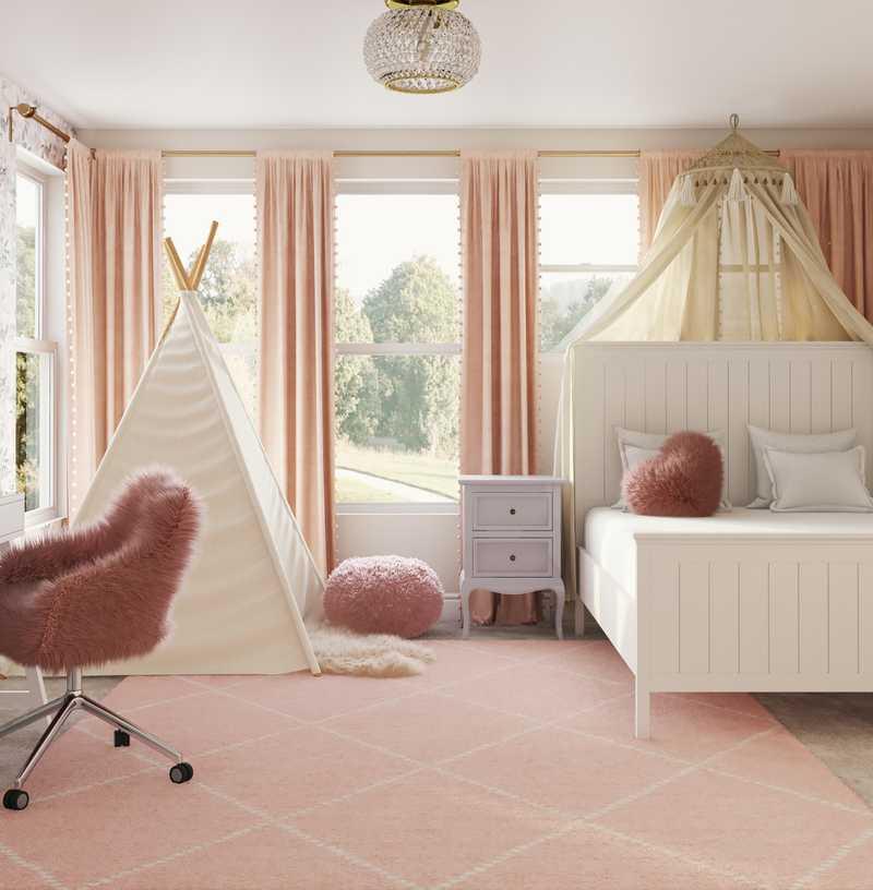Bohemian, Glam, Transitional, Preppy Other Design by Havenly Interior Designer Julie