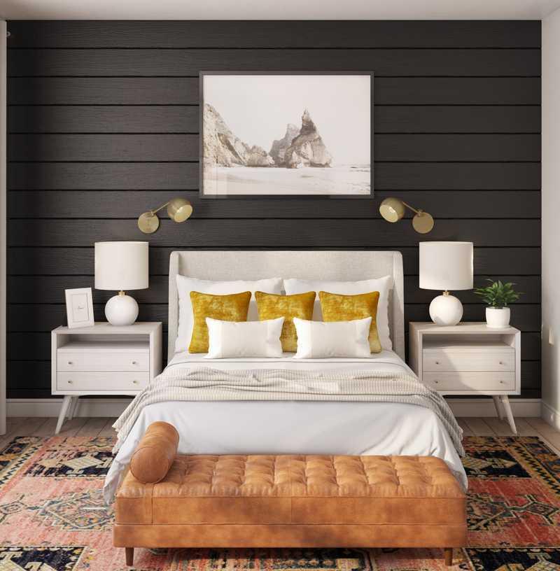 Eclectic Bedroom Design by Havenly Interior Designer Natalie