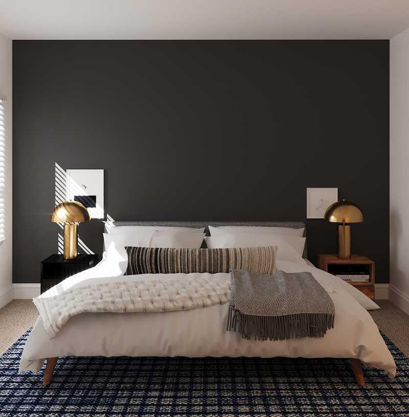 Modern, Midcentury Modern, Scandinavian Bedroom Design by Havenly Interior Designer Viviana