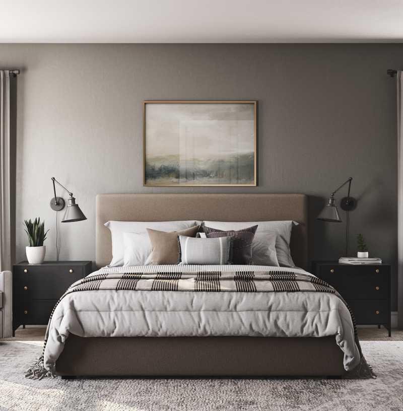 Eclectic, Bohemian, Coastal, Traditional, Farmhouse Bedroom Design by Havenly Interior Designer Laura