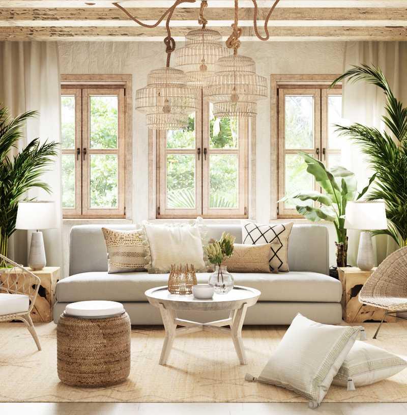 Modern, Bohemian, Rustic  Design by Havenly Interior Designer