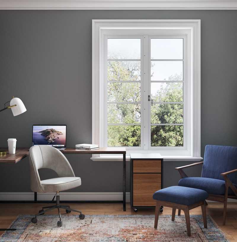 Industrial, Scandinavian Office Design by Havenly Interior Designer Sydney