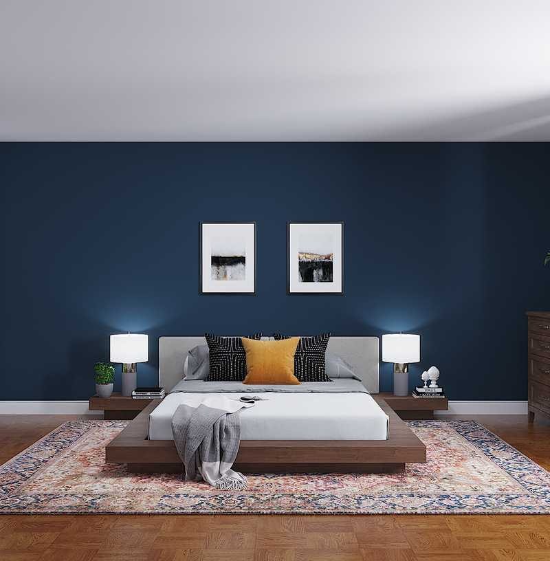 Contemporary, Modern, Transitional Bedroom Design by Havenly Interior Designer Shruti