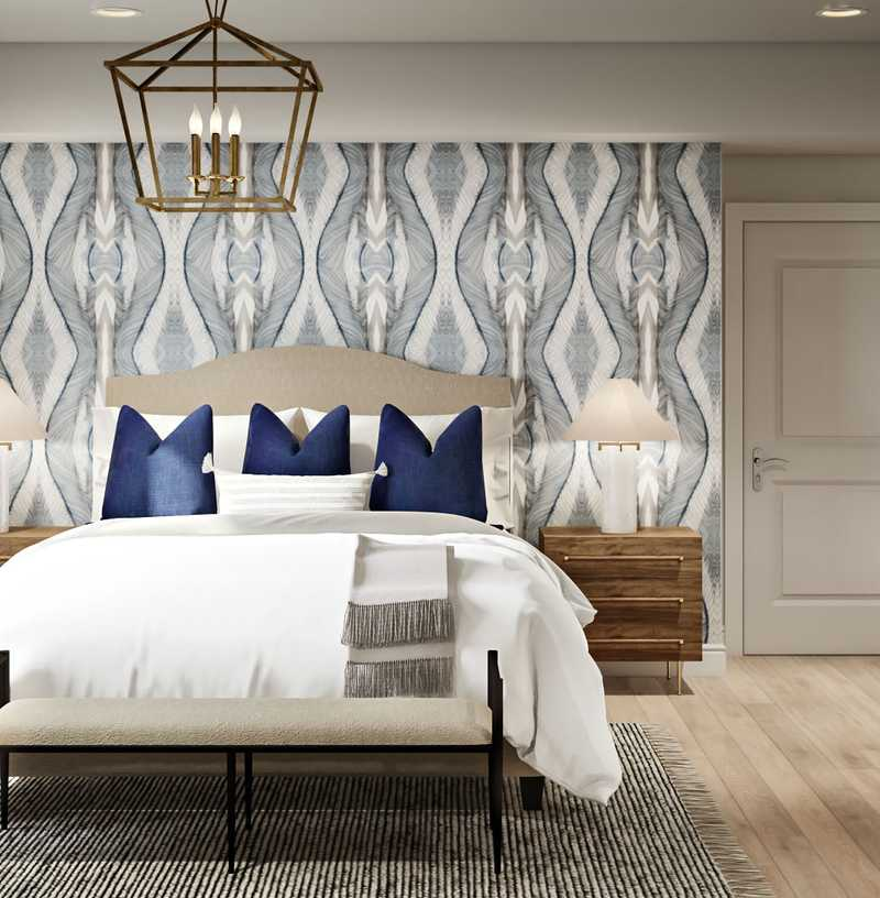 Classic, Coastal Bedroom Design by Havenly Interior Designer Sarah