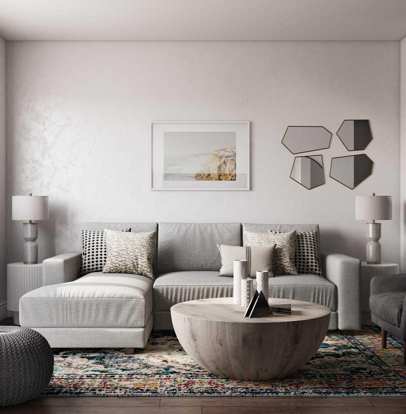 Coastal, Transitional Bedroom Design by Havenly Interior Designer Liliana