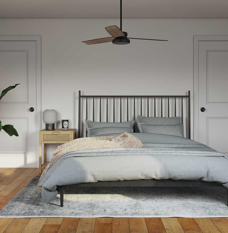 Bohemian Bedroom Design by Havenly Interior Designer Emily