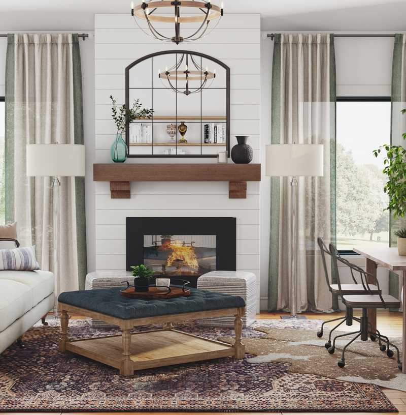 Living Room Design by Havenly Interior Designer Matthew