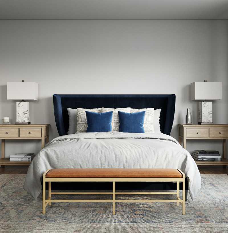 Classic, Coastal Bedroom Design by Havenly Interior Designer Victoria