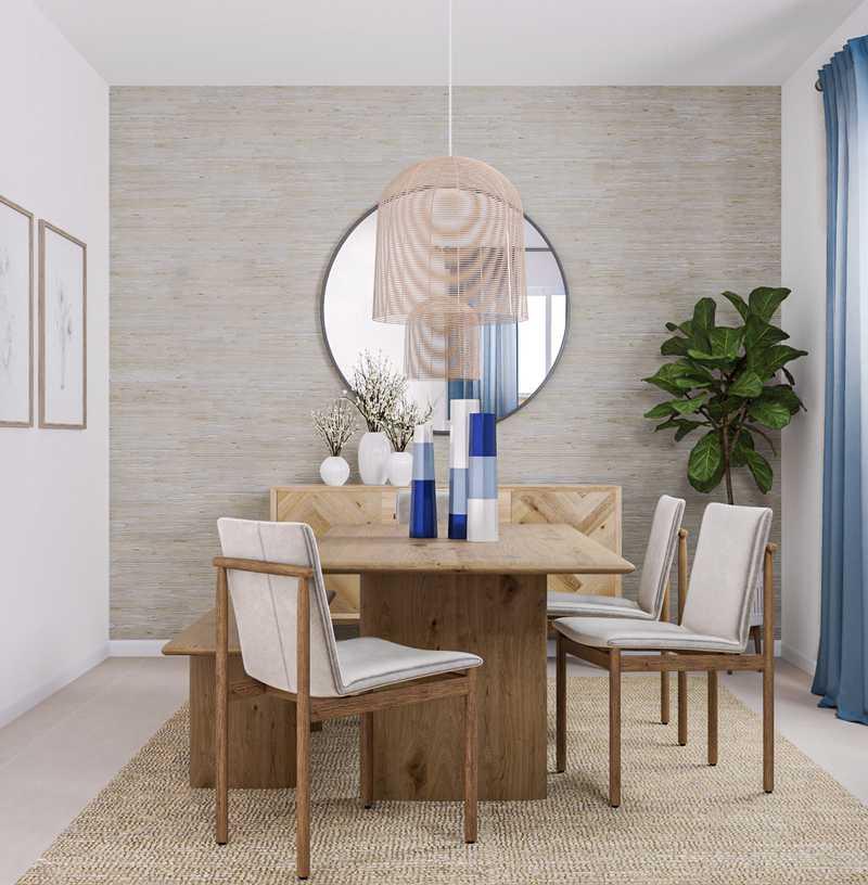 Midcentury Modern Dining Room Design by Havenly Interior Designer Marty