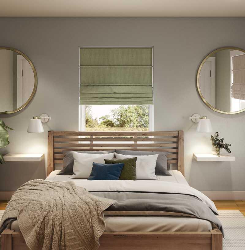 Midcentury Modern Bedroom Design by Havenly Interior Designer Brit