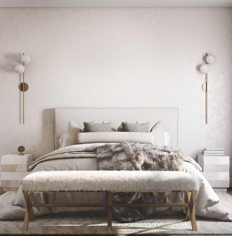 Contemporary, Minimal, Scandinavian Bedroom Design by Havenly Interior Designer Jenna