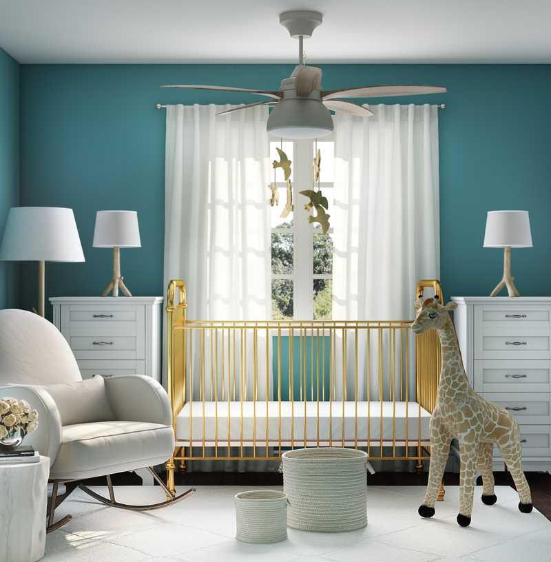 Modern Nursery Design by Havenly Interior Designer Karen