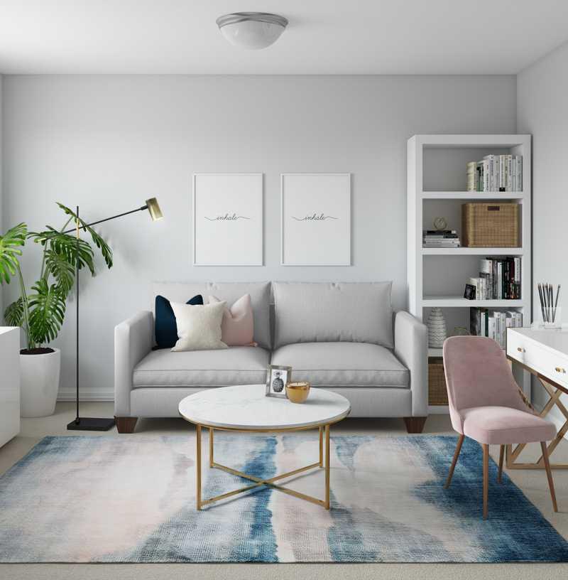 Office Design by Havenly Interior Designer Karen