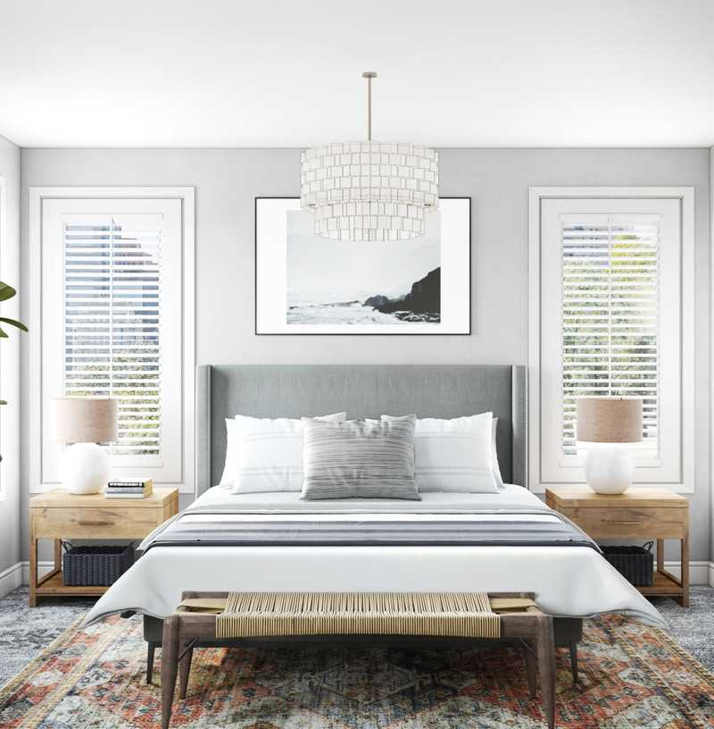 Contemporary, Modern, Classic, Eclectic Bedroom Design by Havenly Interior Designer Amanda