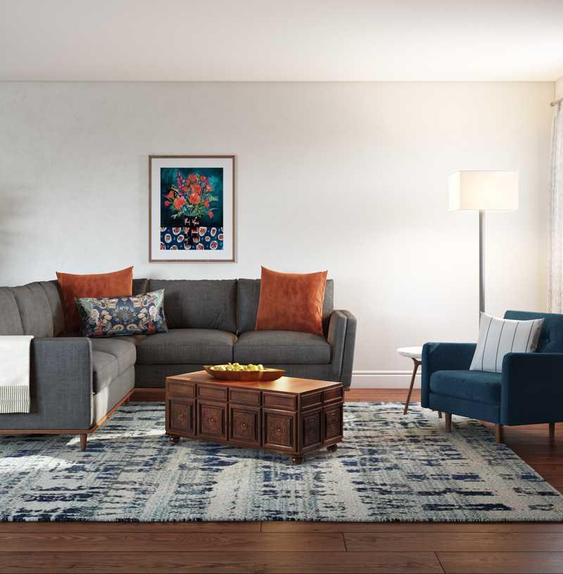 Classic Living Room Design by Havenly Interior Designer Laura