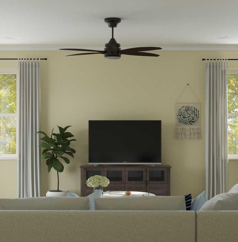 Transitional Dining Room Design by Havenly Interior Designer Tatiana