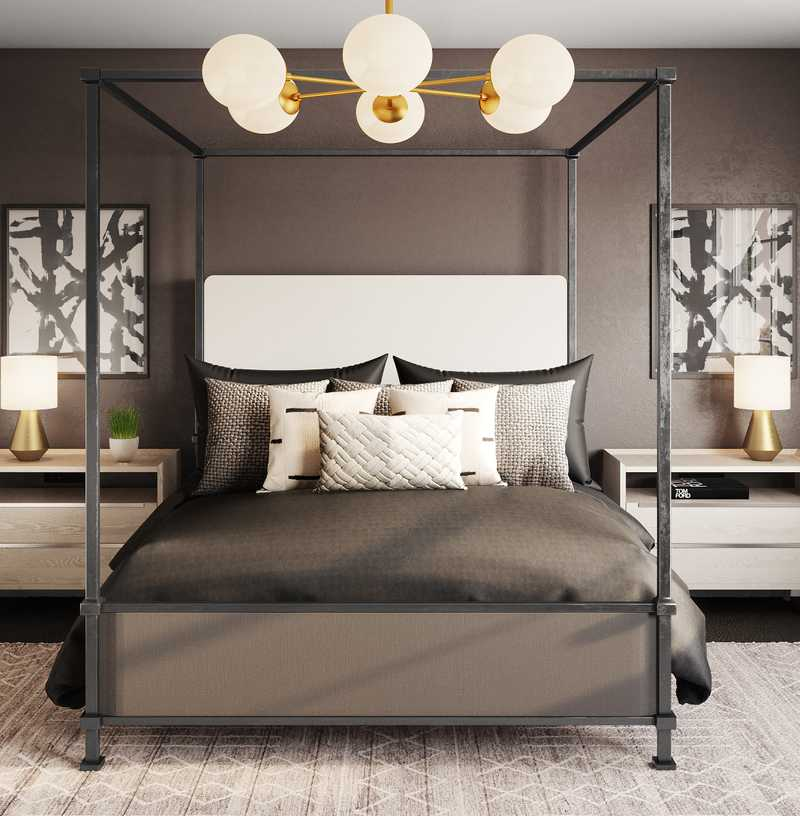 Contemporary, Modern Bedroom Design by Havenly Interior Designer Kayla