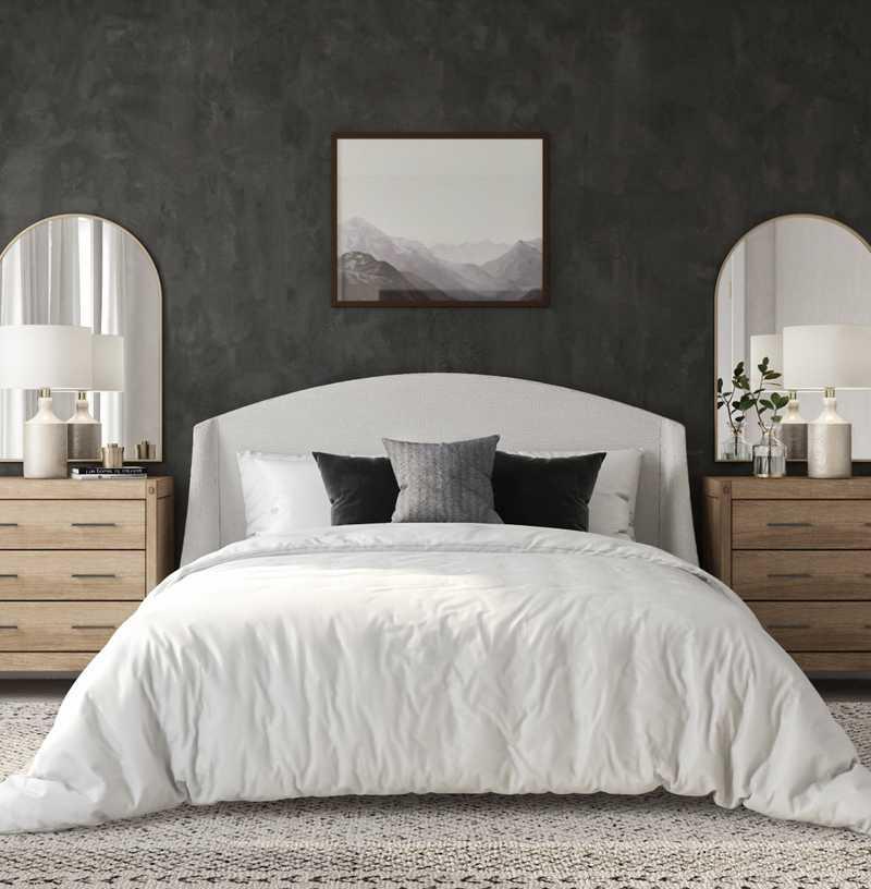 Modern, Bohemian, Midcentury Modern, Minimal Bedroom Design by Havenly Interior Designer Madison