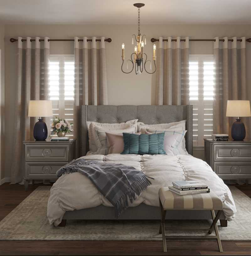 Contemporary, Classic, Traditional, Farmhouse, Transitional Bedroom Design by Havenly Interior Designer Vivian