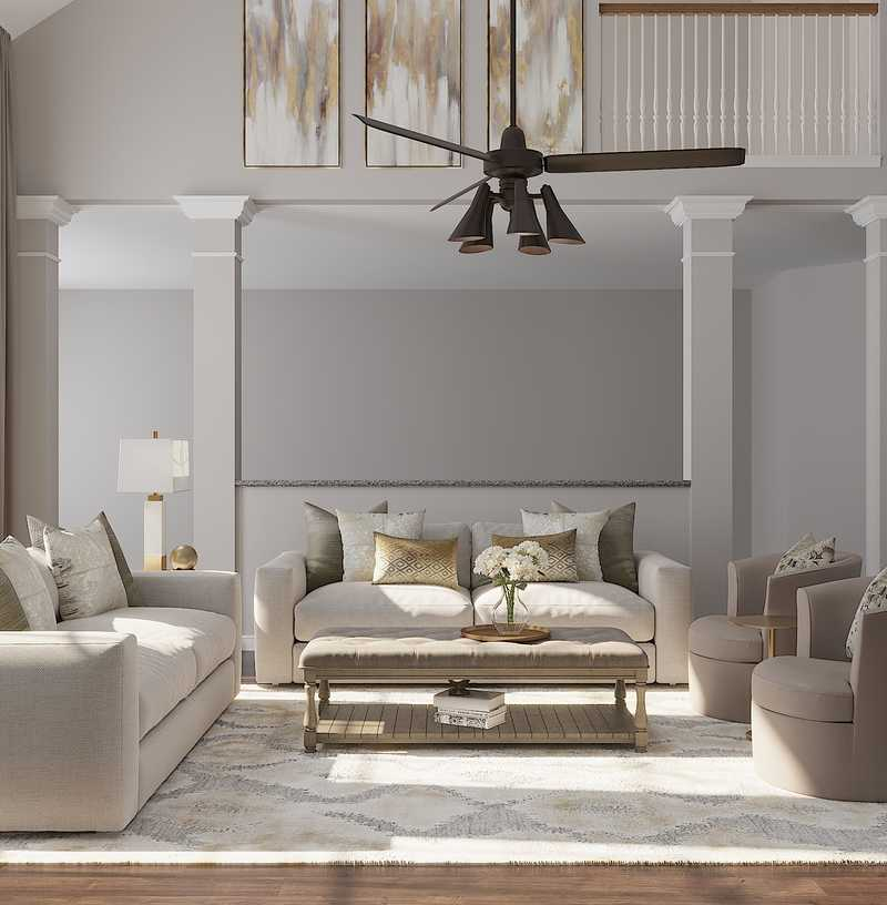 Glam, Transitional Other Design by Havenly Interior Designer Amy