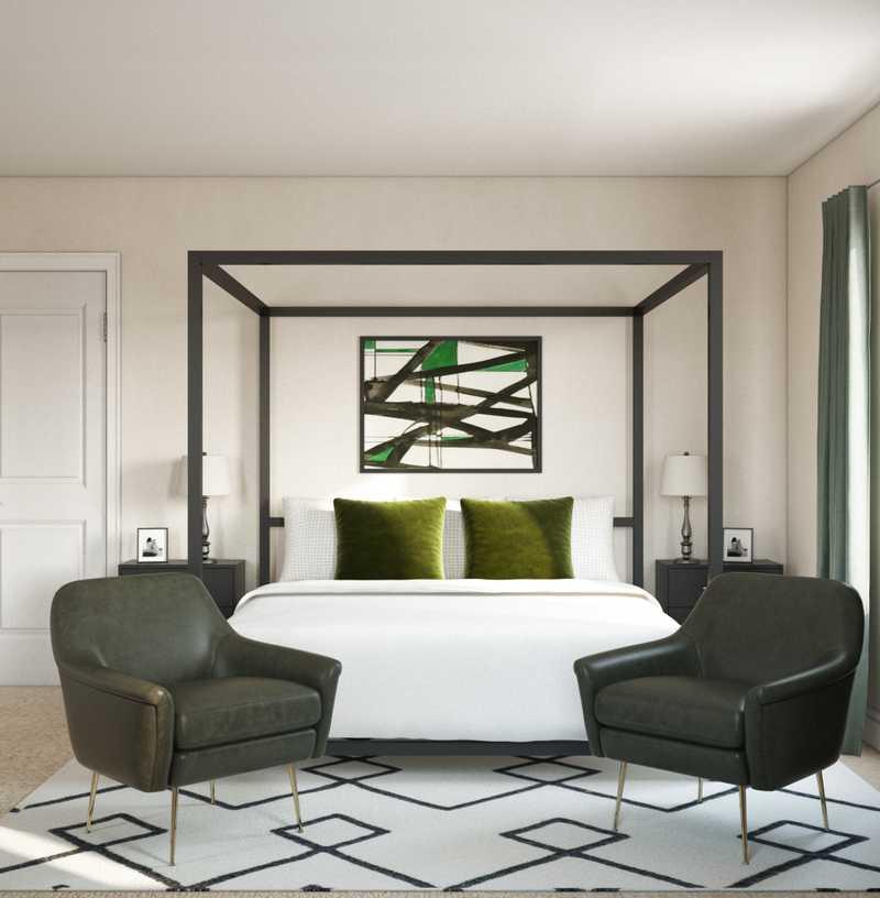 Modern, Glam Bedroom Design by Havenly Interior Designer Danielle