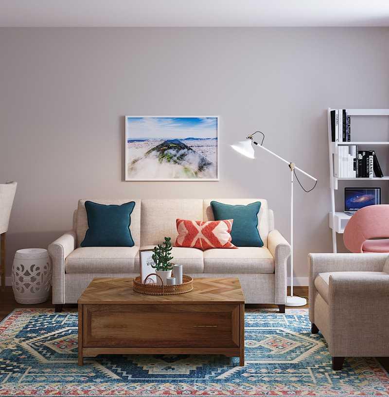 Living Room Design by Havenly Interior Designer Stephanie
