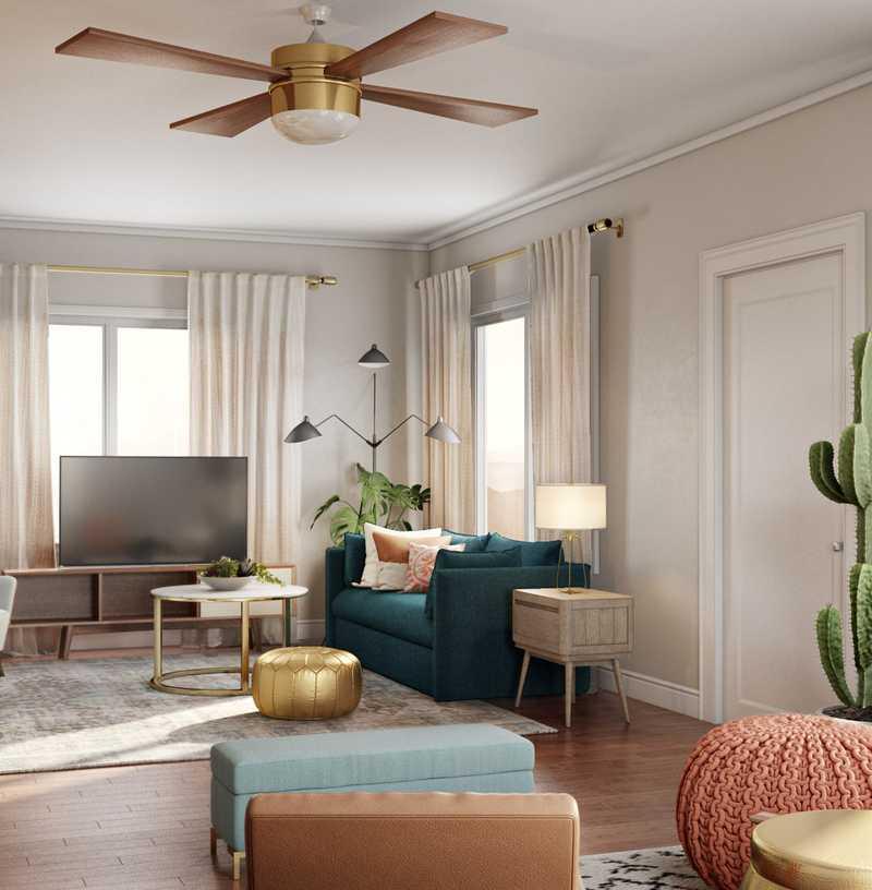 Living Room Design by Havenly Interior Designer Sydney