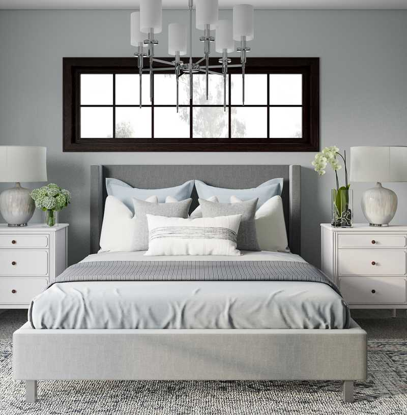 Classic, Transitional Bedroom Design by Havenly Interior Designer Kelcy