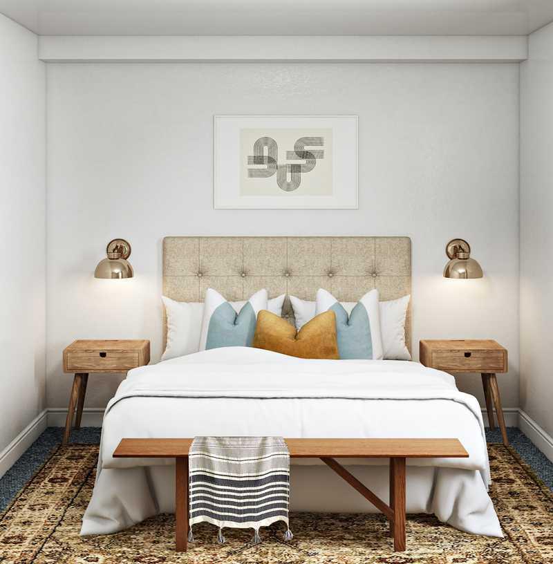 Modern Bedroom Design by Havenly Interior Designer Leah