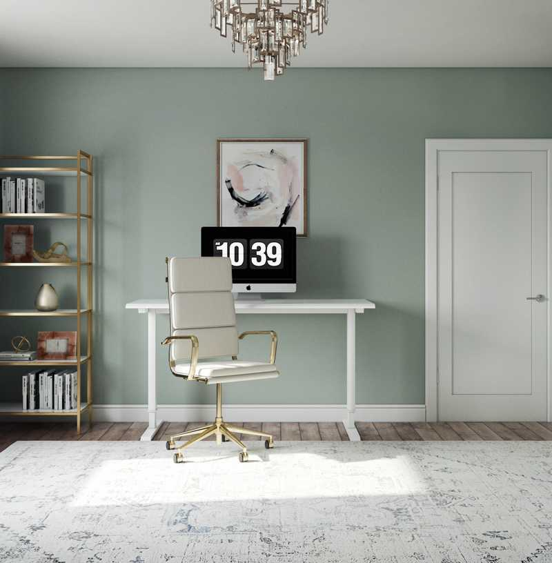 Office Design by Havenly Interior Designer Paige