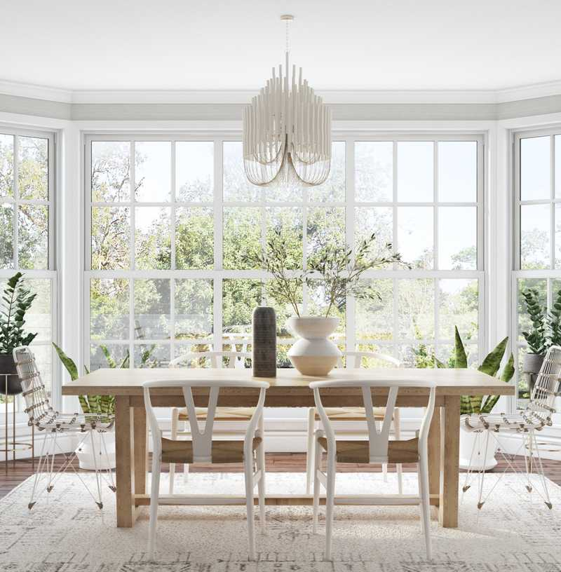 Modern, Classic, Transitional Dining Room Design by Havenly Interior Designer Stacy