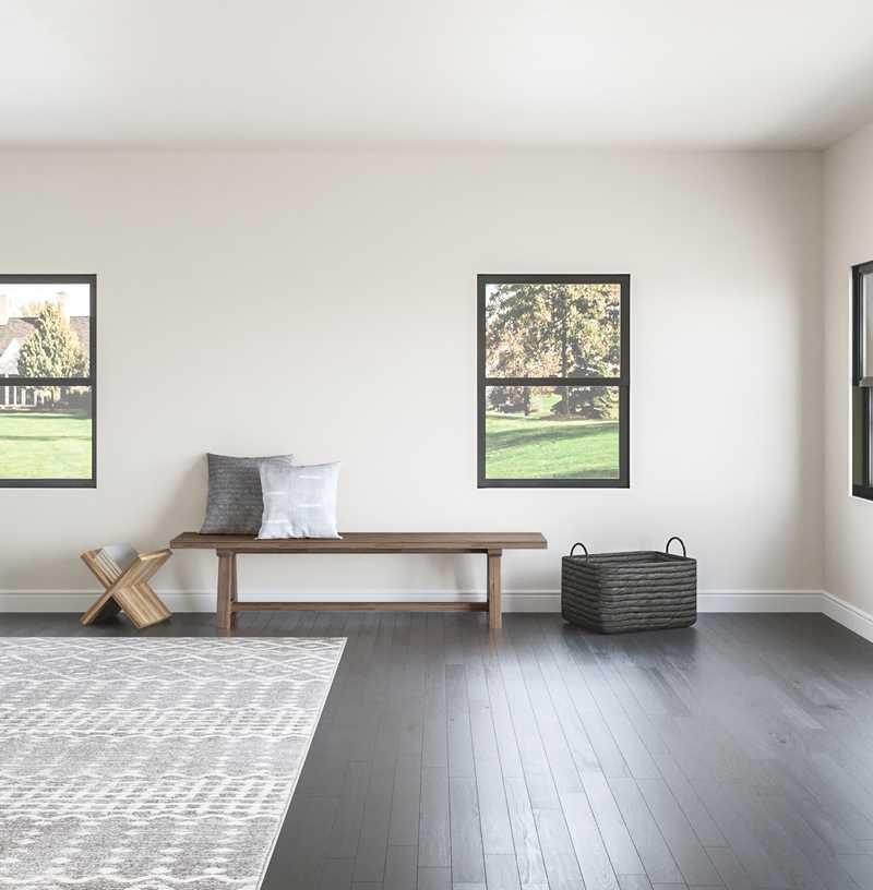 Modern, Minimal Living Room Design by Havenly Interior Designer Laura