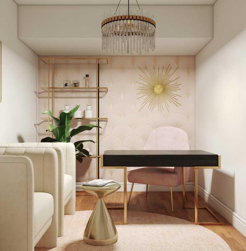 Glam, Midcentury Modern, Minimal, Scandinavian Other Design by Havenly Interior Designer Maria