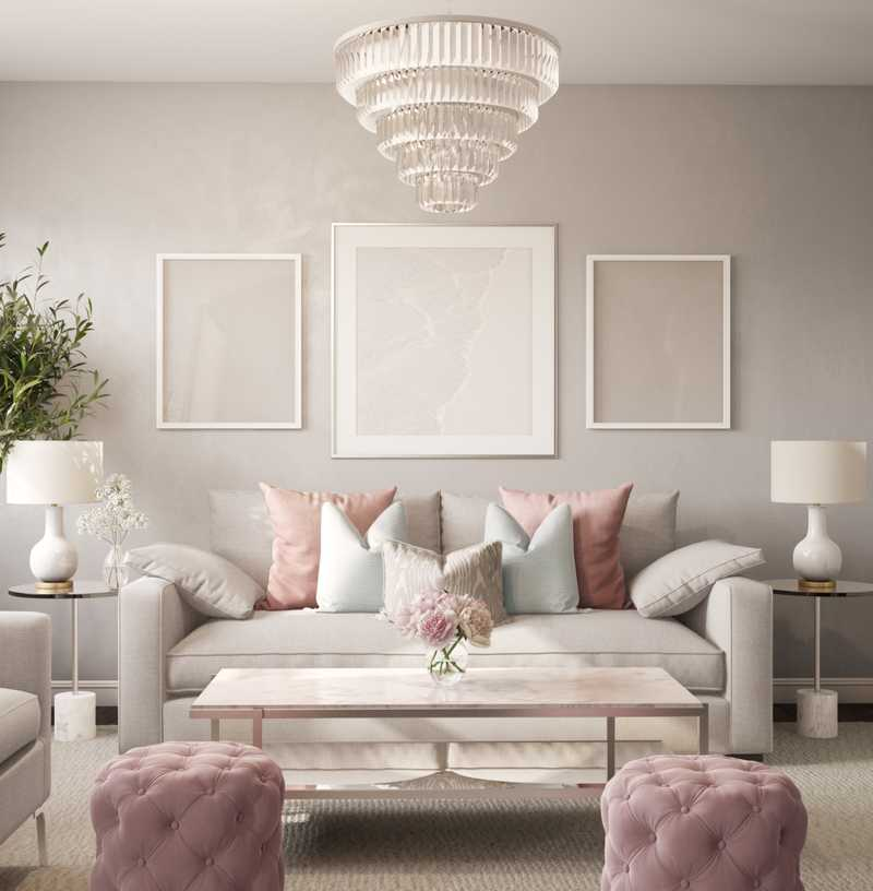 Living Room Design by Havenly Interior Designer Kelcy