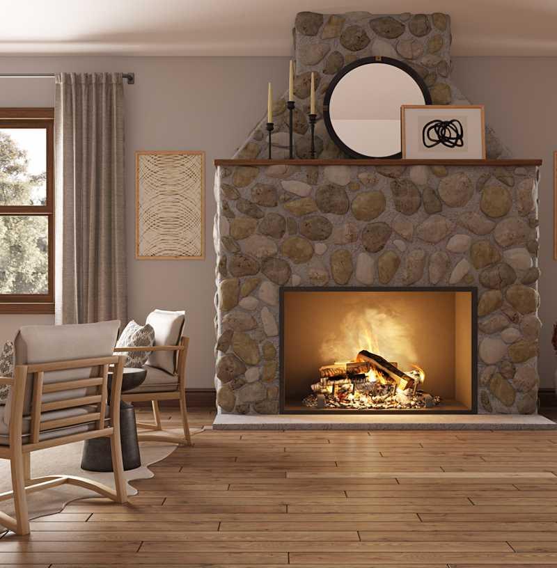 Living Room Design by Havenly Interior Designer Caitlin