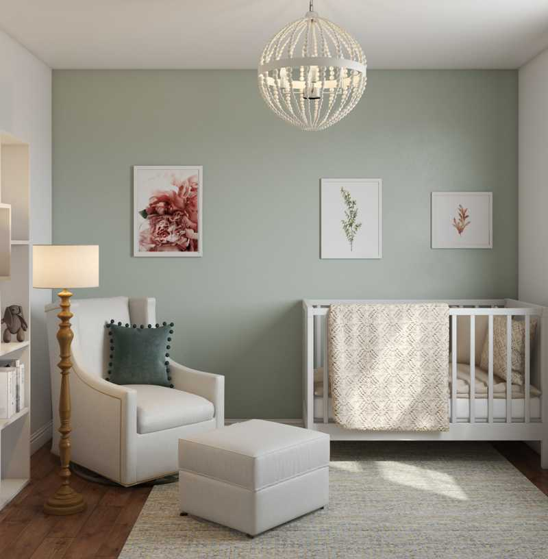 Farmhouse Nursery Design by Havenly Interior Designer Shirley