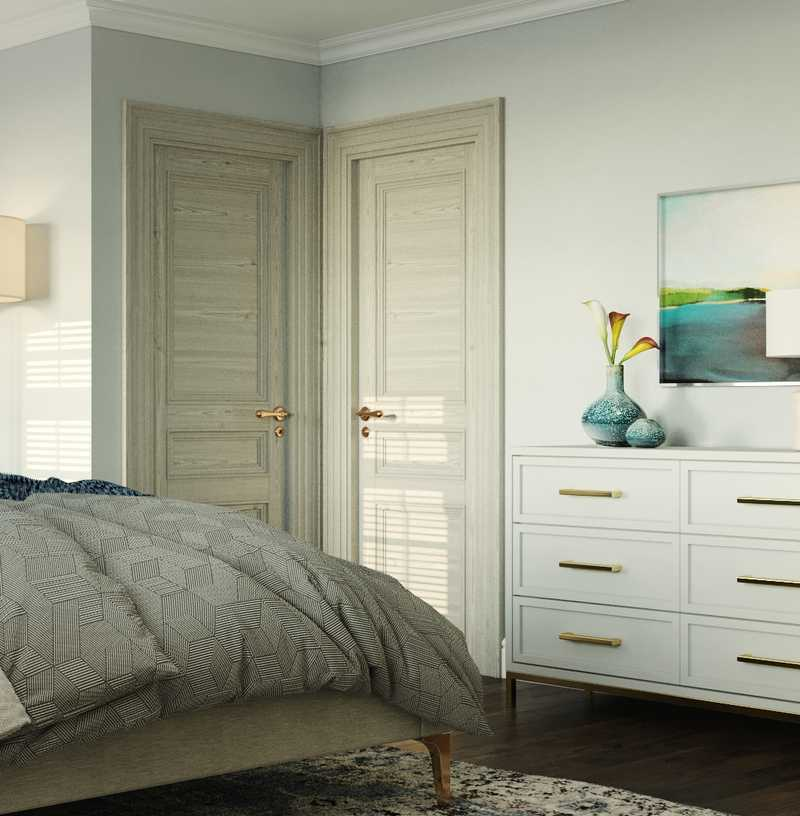 Classic, Coastal Bedroom Design by Havenly Interior Designer Erin