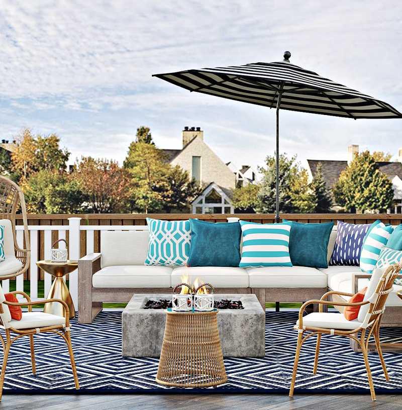Modern, Bohemian, Glam, Preppy Other Design by Havenly Interior Designer Jennifer