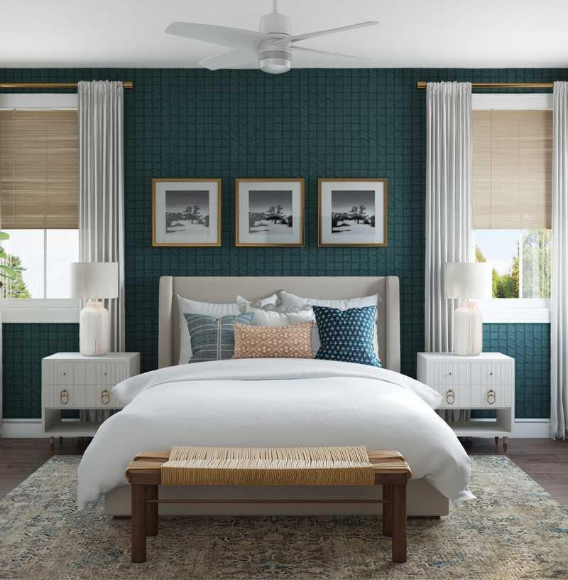 Eclectic, Traditional Bedroom Design by Havenly Interior Designer Natalie