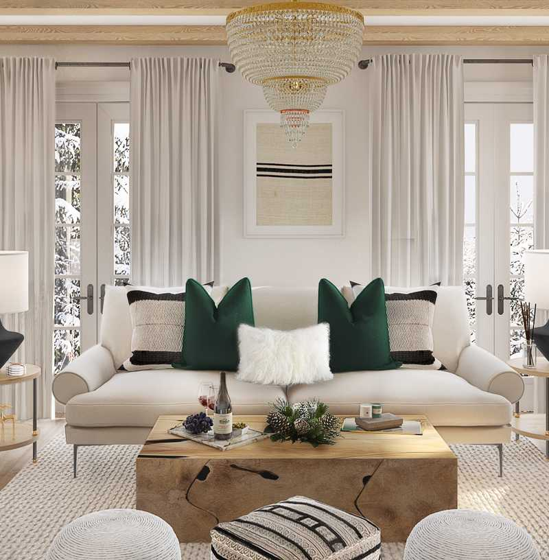 Classic, Glam, Transitional Design by Havenly Interior Designer Kelcy