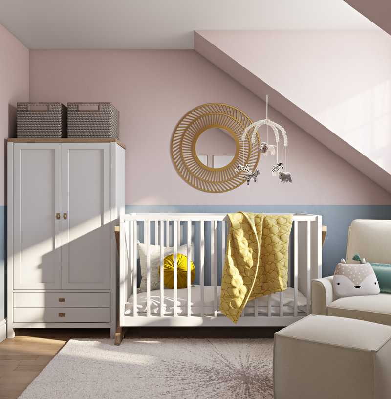 Modern Nursery Design by Havenly Interior Designer Fendy