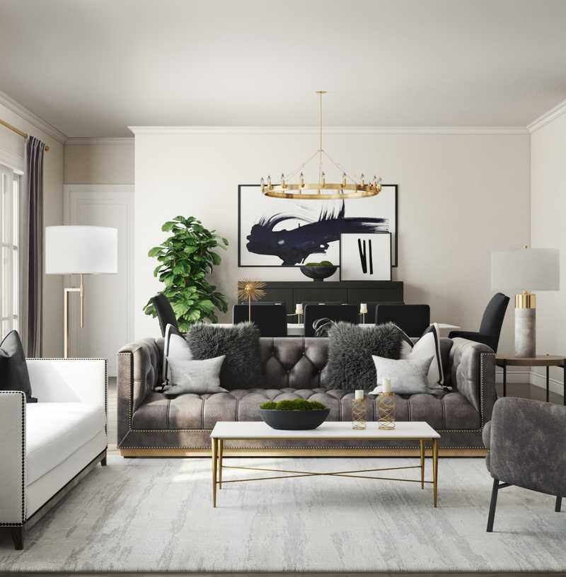 Living Room Design by Havenly Interior Designer Karen